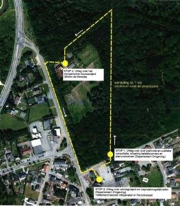 Route infomoment Kasteelpark De Merode